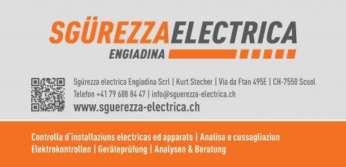 Sgürezza electrica Engiadina Scrl | Kurt Stecher | Via da Ftan 495E | CH-7550 Scuol