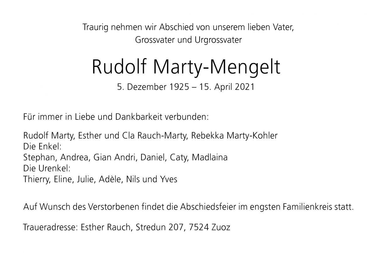 Rudolf Marty-Mengelt