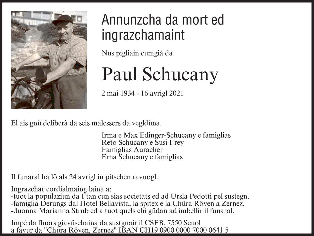 Paul Schucany