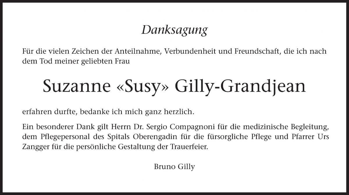 Suzanne «Susy» Gilly-Grandjean